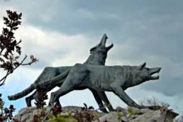 monumento ai Lupi di Toscana, San Giovanni di Duino; SottoMonfalcone