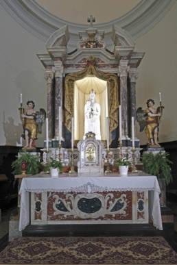 altare della Chiesa della Beata Vergine Marcelliana; Monfalcone