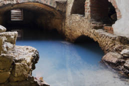 fonte termale Terme Romane di Monfalcone; Friuli Venezia Giulia; Monfalcone